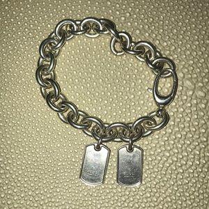 AUTHENTIC Gucci chain Pendant Bracelet worn 2 x